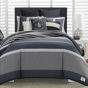 Nautica KING Rendon Comforter Set new